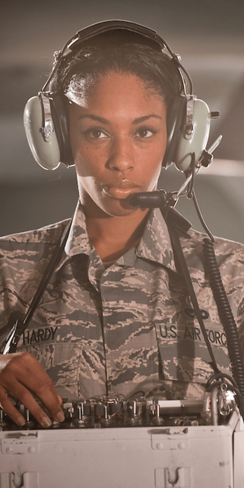 Air National Guard Servicewoman Hardy