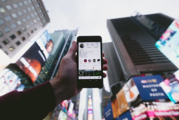 Jakob Owens Instagram in Times Square