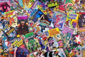 minorities in the comic book rivalry