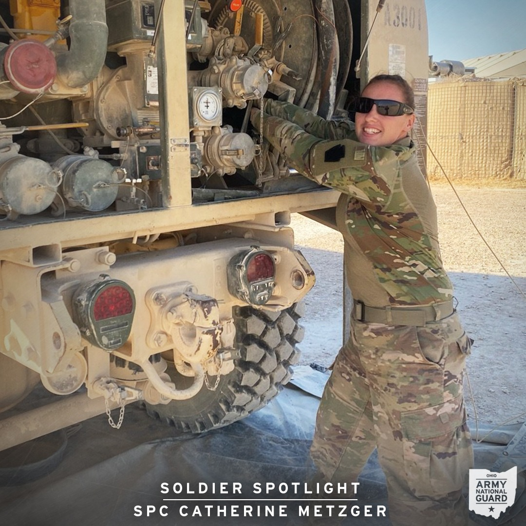 jake bova's work as a digital content manager for the ohio army national guard