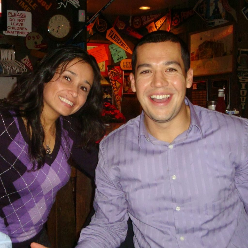 Natasha & Eric together early on in the development of our cross-cultural marketing agency.